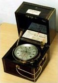 19th century two-day chronometer, mounted in gimbals
