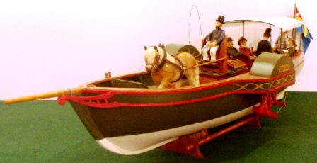 Horse powered paddle ferry GEFION (1823)