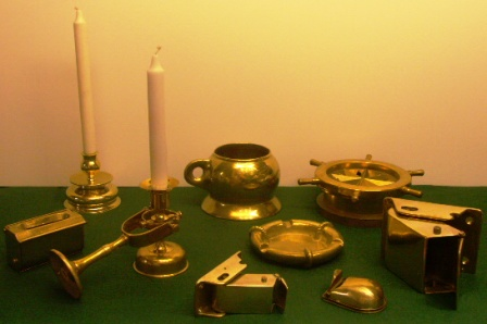 Candlesticks, Spittoons and Ashtrays