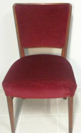 Mahogany chair. 1950's.