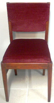 Mahogany chair, 1960's