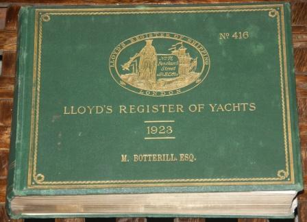 Lloyd's register of yachts