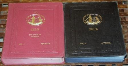 A number of volumes dated between 1925-75